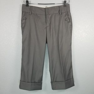 Old Navy Low Waist Stretch cropped pants gray
